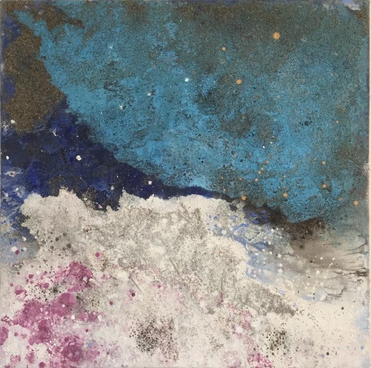 Sand I, 45x45 cm